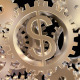 Golden Dollar Gears - VideoHive Item for Sale