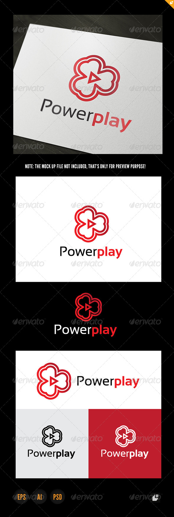 Power Play - Objects Logo Templates