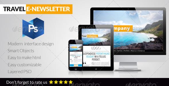 Travel E-Newsletter - E-newsletters Web Elements