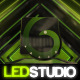 LED Studio Logo - VideoHive Item for Sale