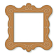 Curvy Picture Frame - GraphicRiver Item for Sale