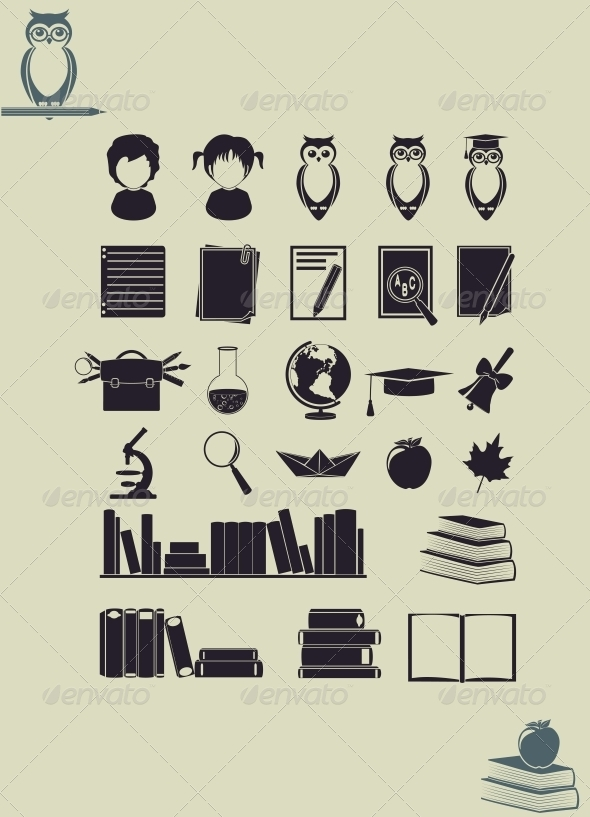 Education Icons - Miscellaneous Conceptual