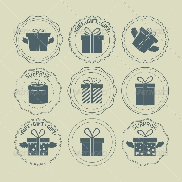 Gift Boxes Stamp - Miscellaneous Seasons/Holidays