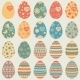Easter Eggs Icons - GraphicRiver Item for Sale