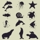 Sea Animals Icons - GraphicRiver Item for Sale