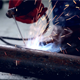 Close Up Of Weld Metal - VideoHive Item for Sale