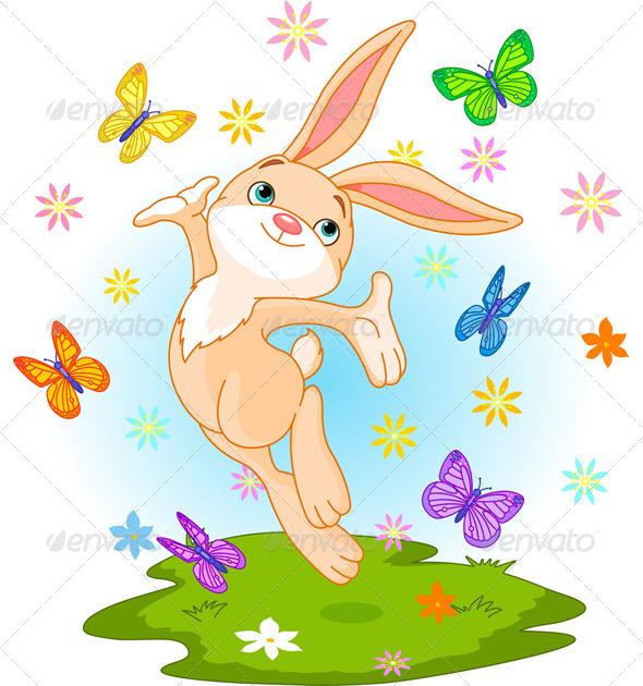 Spring Bunny - Seasons/Holidays Conceptual