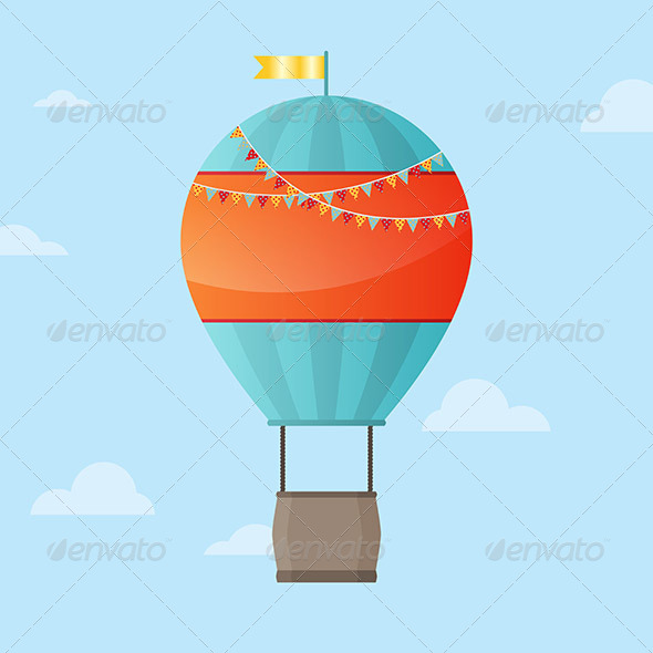 Air Balloon Background - Man-made Objects Objects