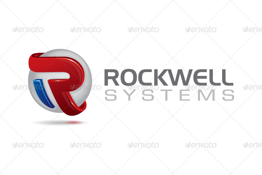 3d r letter corporate logo design by suketoejoeh graphicriver previewset01g thecheapjerseys Images