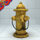 Fire Hydrant(Highploy version) - 3DOcean Item for Sale