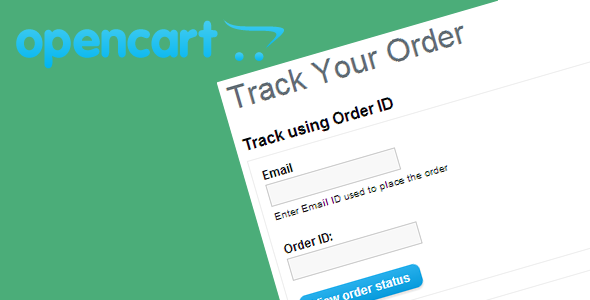 Opencart Track Order - CodeCanyon Item for Sale