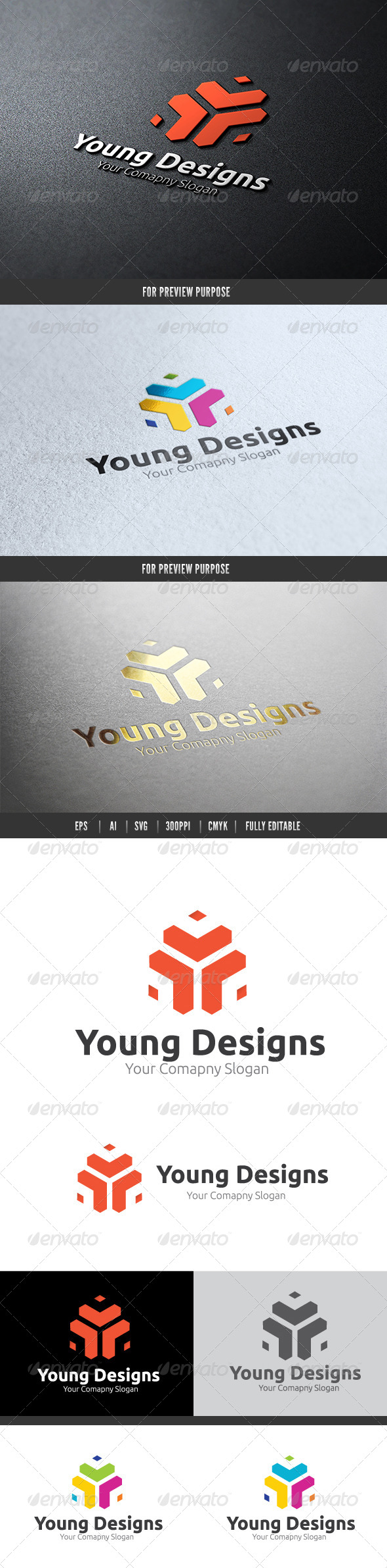 Young Designs - Objects Logo Templates