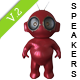 Munny Toy Speakers V.2 - GraphicRiver Item for Sale
