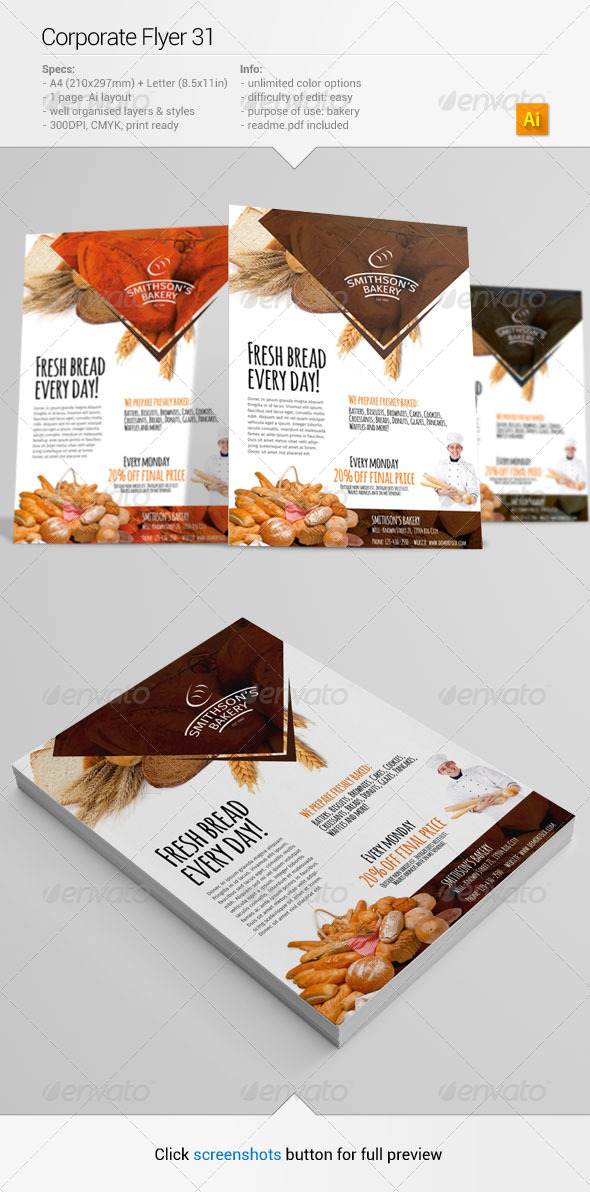 Corporate Flyer 31 - Commerce Flyers