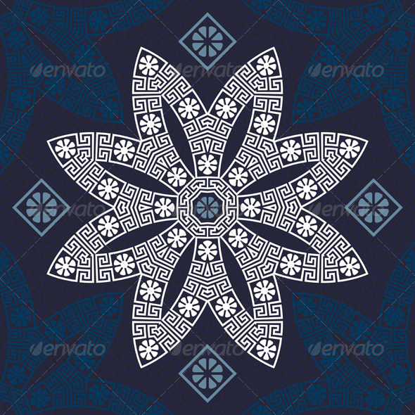 Traditional Vintage Greek Ornament - Patterns Decorative