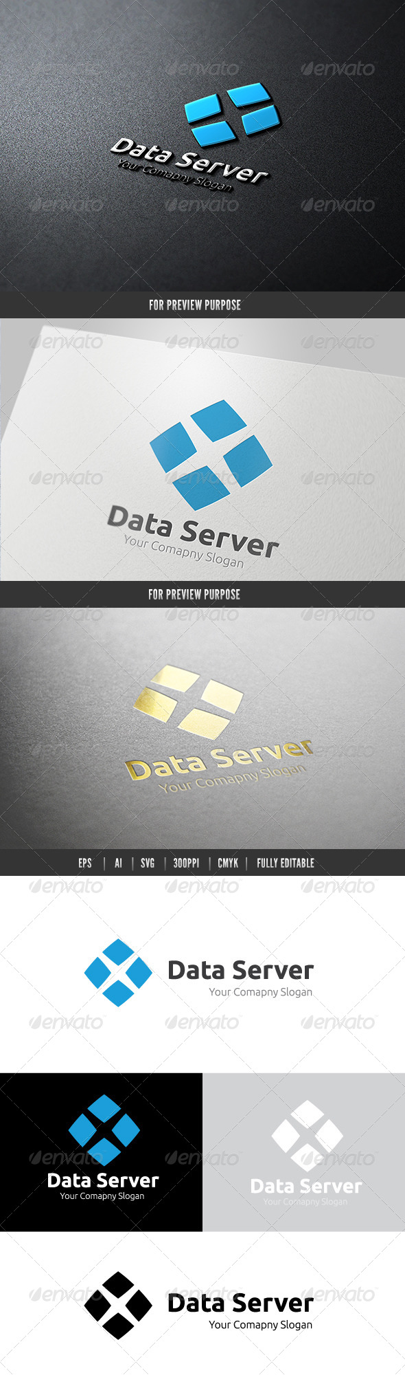 Data Server - Objects Logo Templates