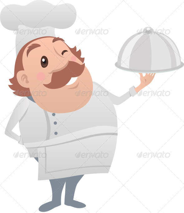 Chef Posing - People Characters