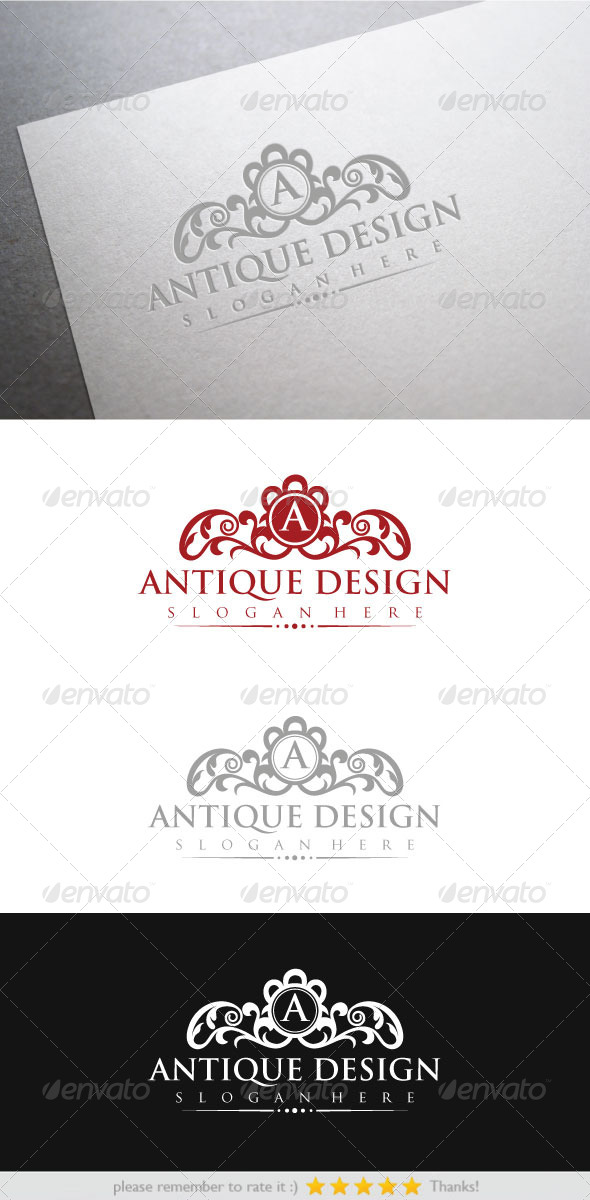 Antique Design - Crests Logo Templates