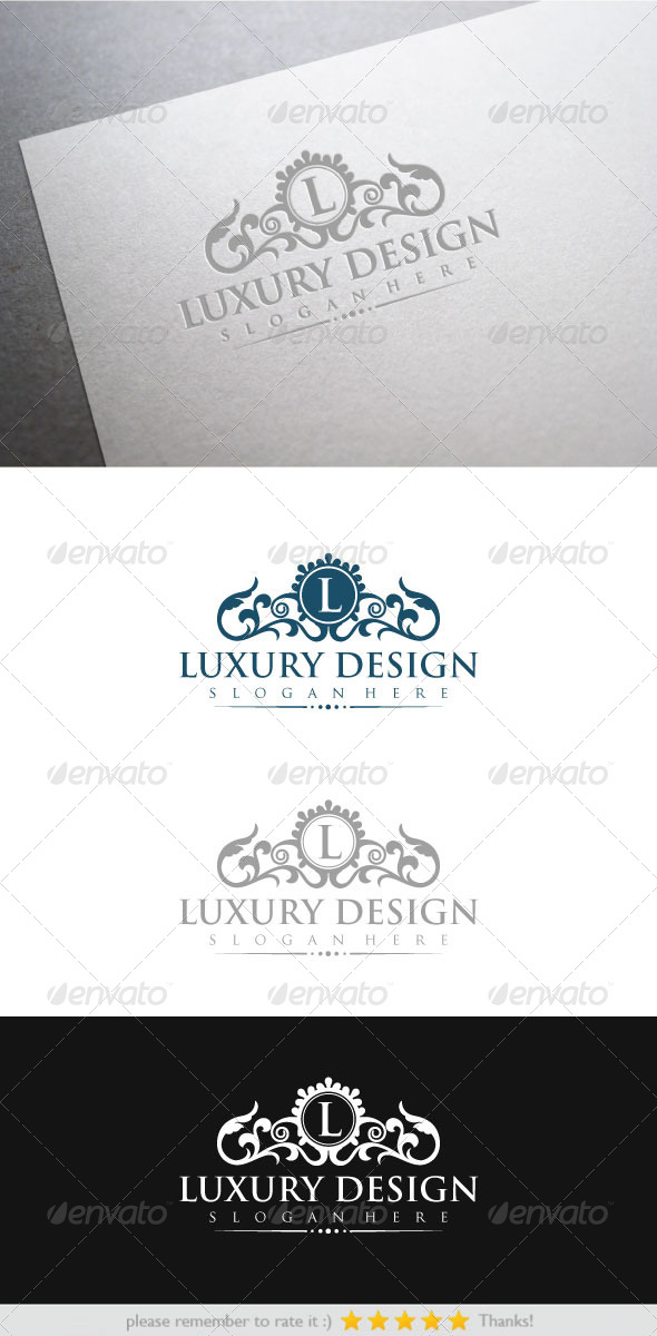 Luxury Design - Crests Logo Templates