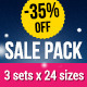 Premium Sale Banners Mega Pack - GraphicRiver Item for Sale