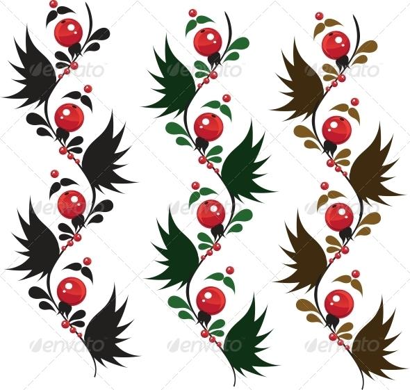 Ornamental Berries from Granules  - Flowers & Plants Nature