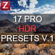 17 Pro HDR Presets - GraphicRiver Item for Sale