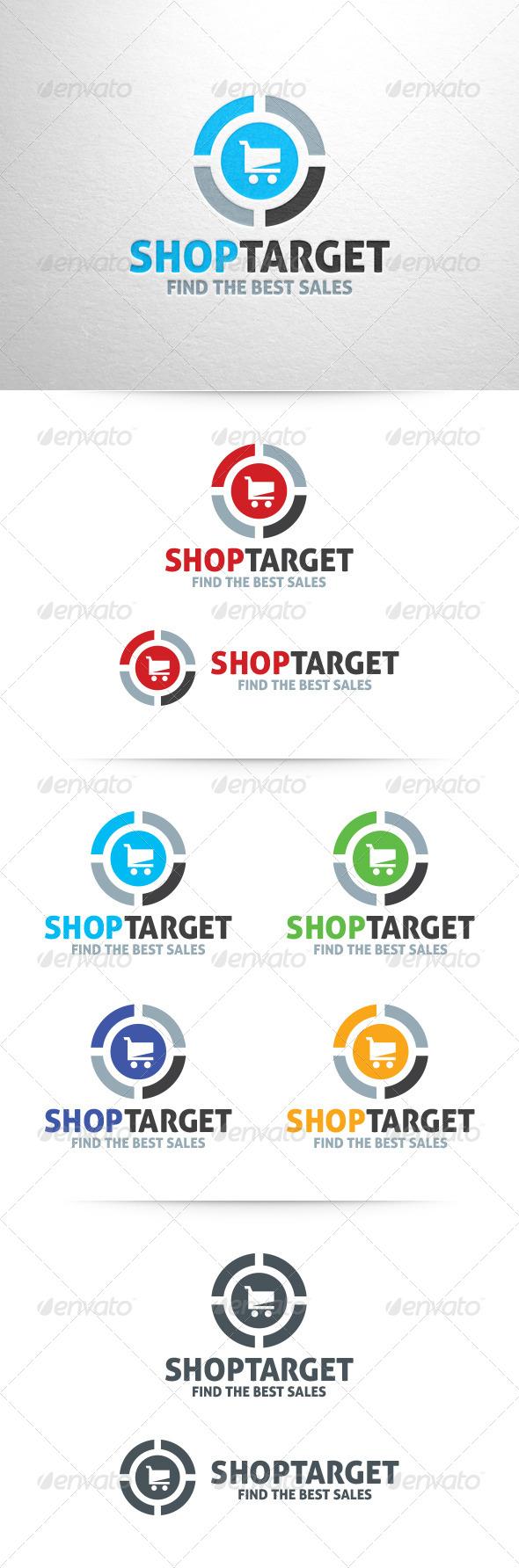 Shop Target Logo Template - Symbols Logo Templates