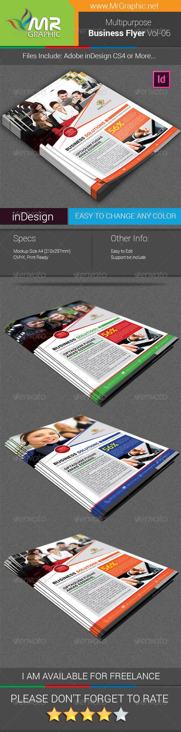 Multipurpose Business Flyer Vol-06 - Corporate Flyers