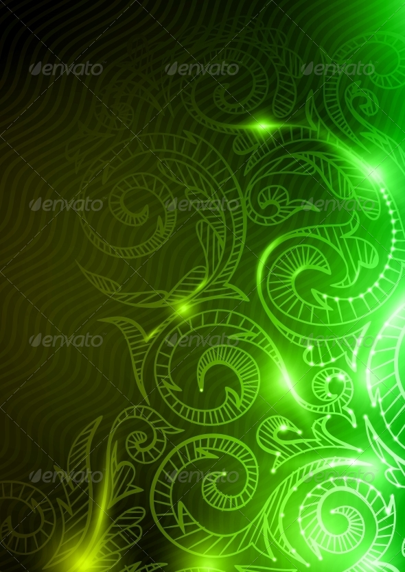 Neon Pattern Background. - Patterns Decorative