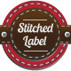 Stitched Label - GraphicRiver Item for Sale
