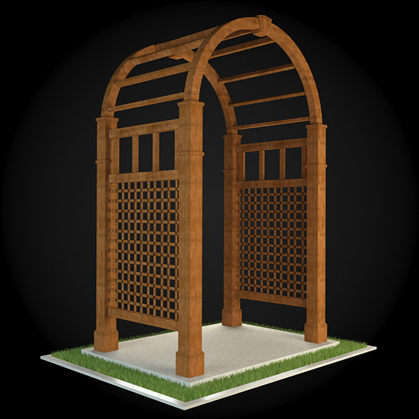 Pergola 009 - 3DOcean Item for Sale
