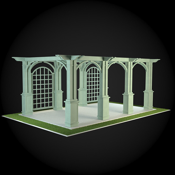 Pergola 013 - 3DOcean Item for Sale