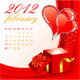 Calendar for 2012 February - GraphicRiver Item for Sale