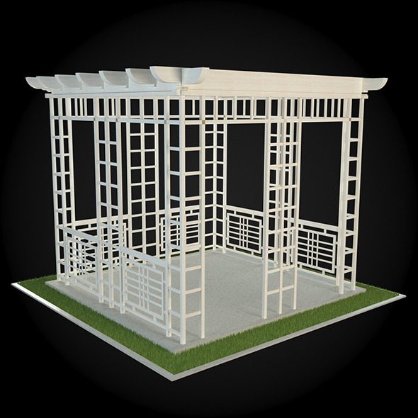 Pergola 017 - 3DOcean Item for Sale