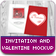 Valentine / Invitation Mockup 2 - GraphicRiver Item for Sale