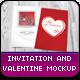 Valentine / Invitation Mockup 2 - GraphicRiver Item for Sale