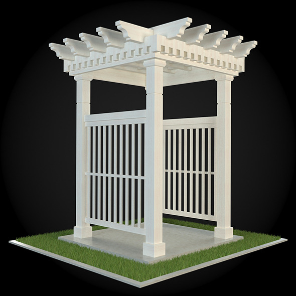 Pergola 021 - 3DOcean Item for Sale