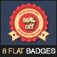 8 Flat Special Offer Badges - GraphicRiver Item for Sale