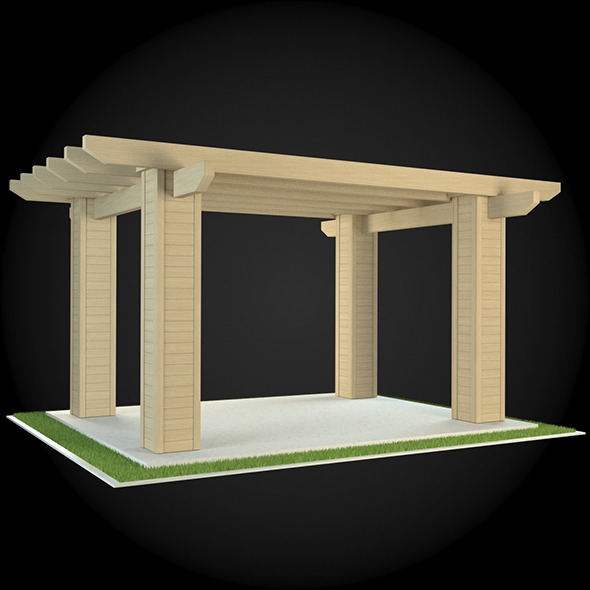 Pergola 022 - 3DOcean Item for Sale