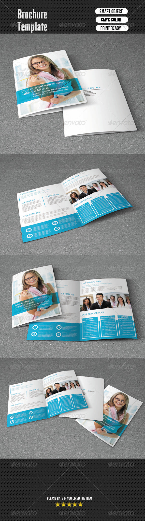 Bifold Brochure-Business - Corporate Brochures