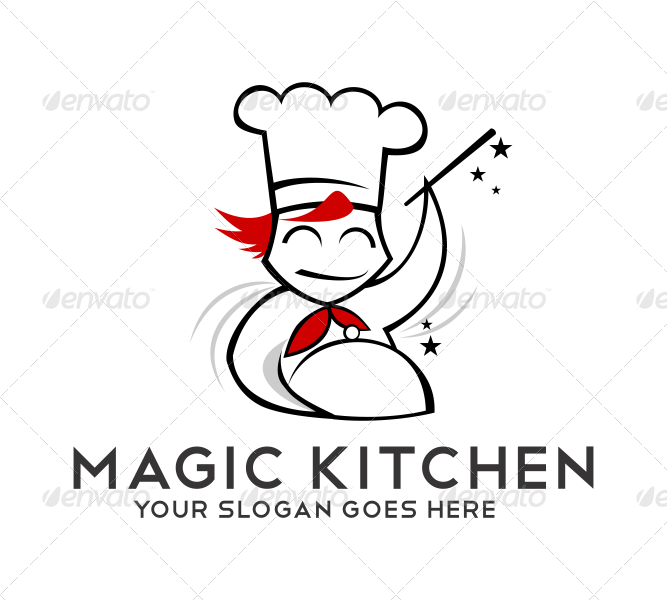 magic kitchen logo - Kitchen Logo
