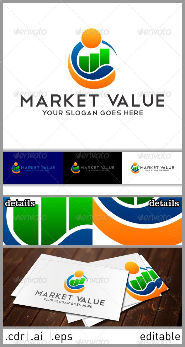 Market Value Logo  - Symbols Logo Templates