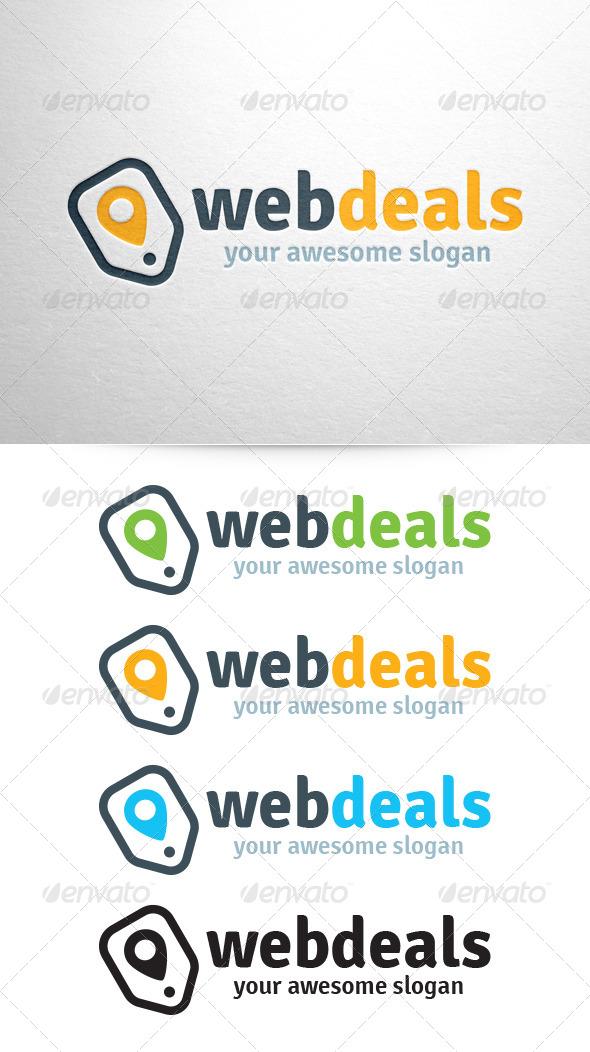 Web Deals Logo Template - Symbols Logo Templates