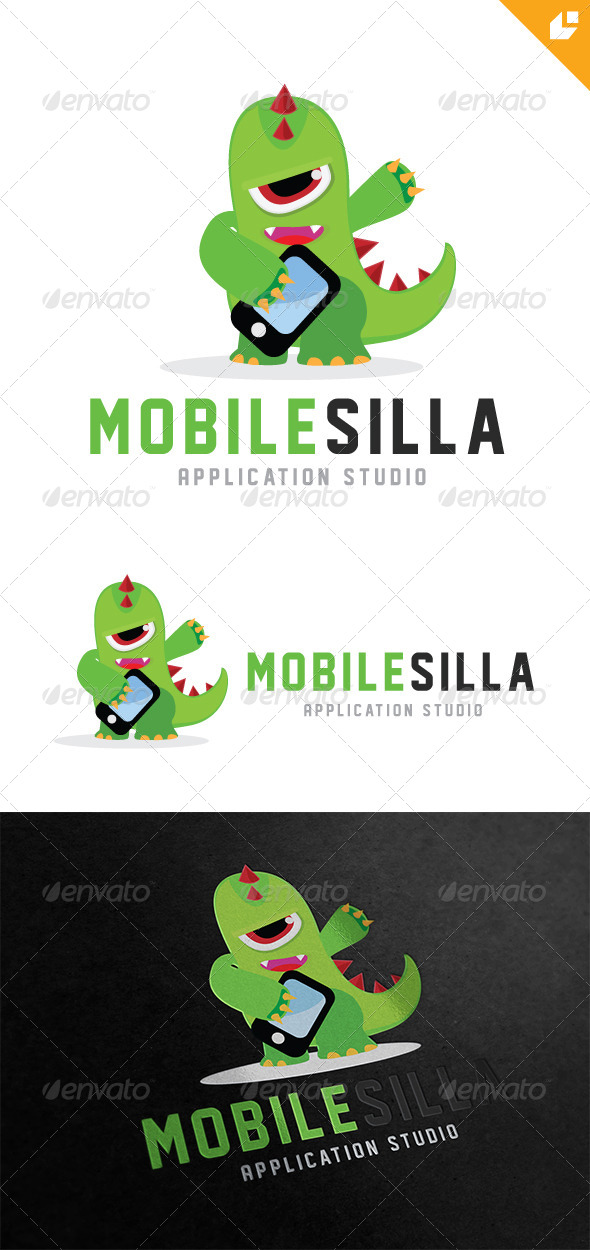Mobile Silla - Animals Logo Templates