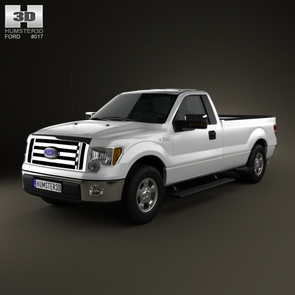 Ford F-150 XLT RegularCab 65ftBox 2011 - 3DOcean Item for Sale