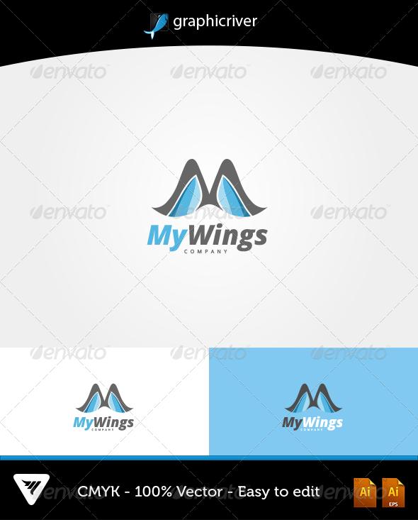 MyWings Logo - Logo Templates