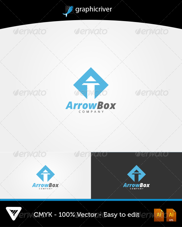 ArrowBox Logo - Logo Templates