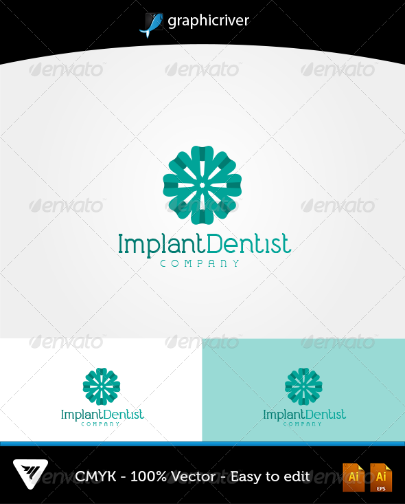 ImplantDentist Logo - Logo Templates