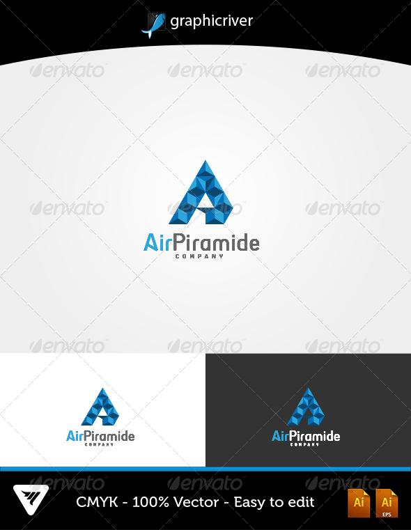 AirPiramide Logo - Logo Templates