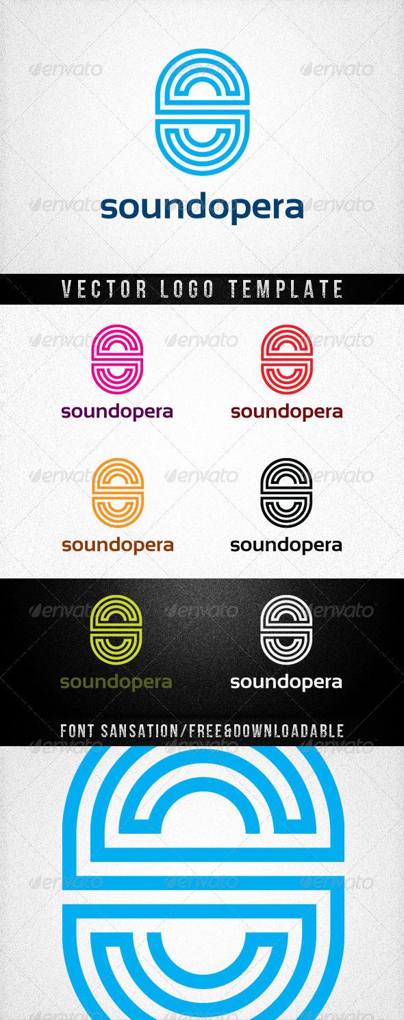 SOUNDOPERA - Letters Logo Templates